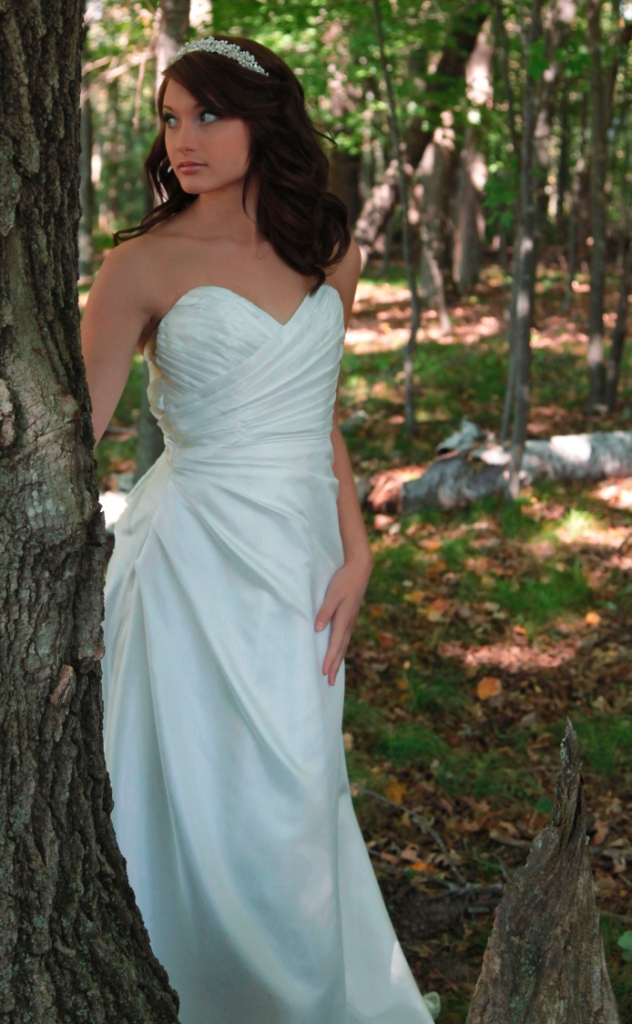 Silk Bridal Gowns Made in USA Forest Lake, Minnesota - Sienna Cole